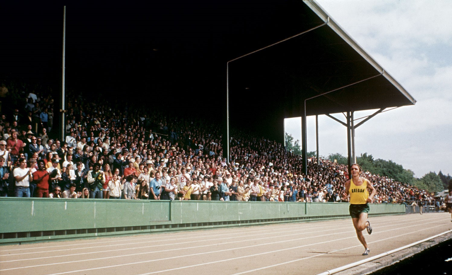 My brother presence electrified Hayward Field in a way that had never been done before, we can't tear down history