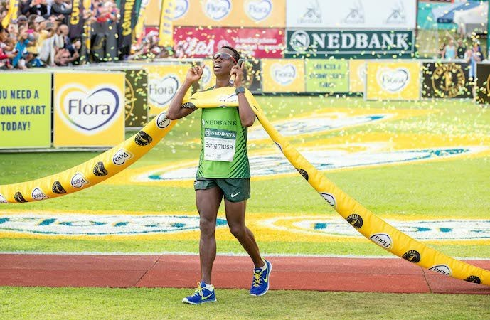 Last year's Comrades winner will  defend his title on sunday at Comrades Marathon