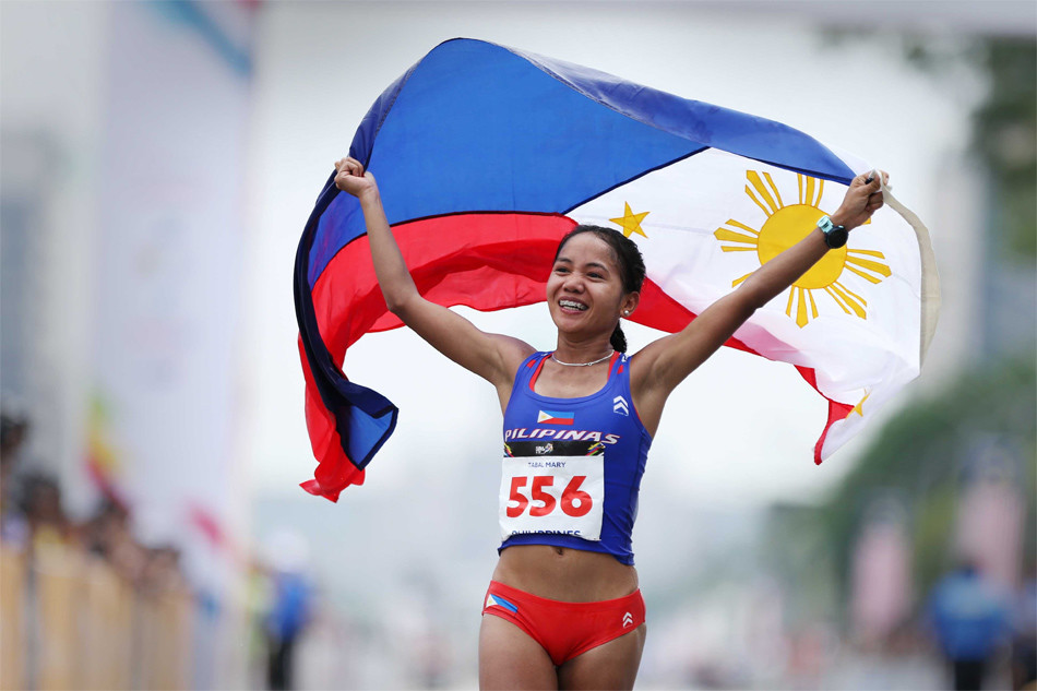 The 29-year-old Olympian Mary Joy Tabal will be running the Tokyo Marathon in March