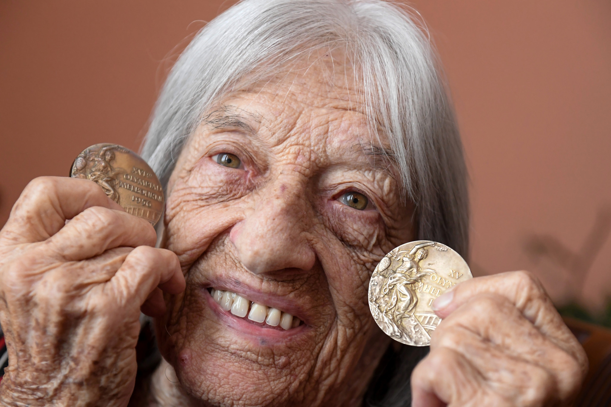 Agnes Keleti is the oldest surviving Olympic Champion and she will celebrate her 100th brithday