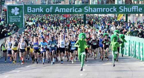The Bank of America Shamrock Shuffle has a new Mile event run