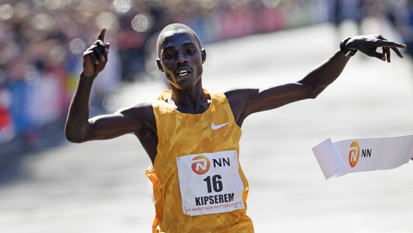 2018 Abu Dhabi Marathon champion Marius Kipserem from Kenya eyes podium at Rotterdam Marathon
