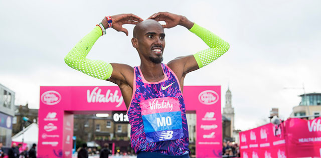 Sir Mo Farah announced he will be running the Vitality Big Half as part of his training for 2019 London Marathon