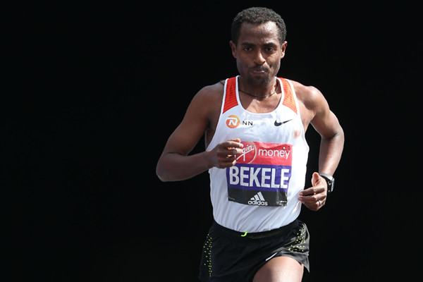 Bekele has made it very clear unlike some of the other elites, his goal is to win London