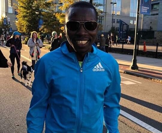Boaz Kipyego of Kenya won the Anthem Richmond Marathon clocking 2:20:44
