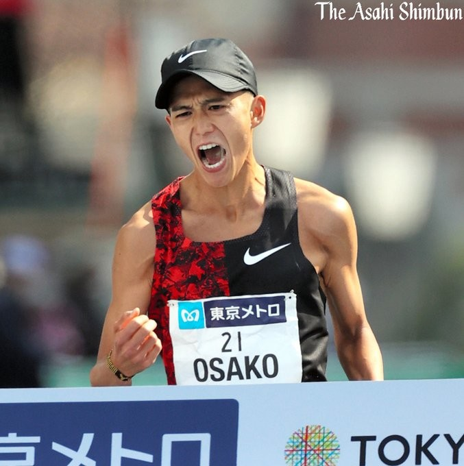 Birhanu Legese win the Tokyo Marathon clocking 2:04:15 while Suguru  Osako sets a new Japanese record with 2:05:29