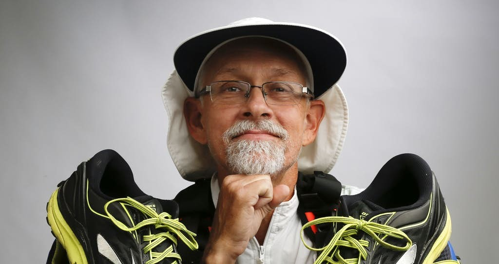 His Doctor Calls Him a Diabectic Superhero after running 223 Miles