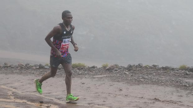 Underberg local Nkosinathi Duma is dreaming big for this year's Comrades Marathon