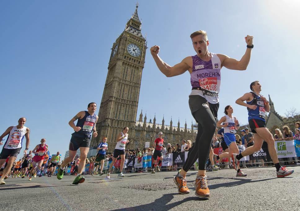 This year's London Marathon could be the hottest ever but you never know with weather forecasts