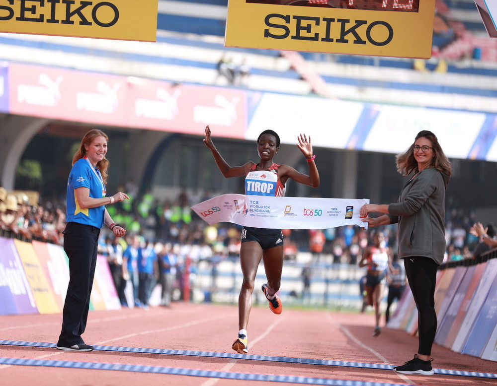 Kenya's Agnes Tirop will return to the Garden City to defend her title
