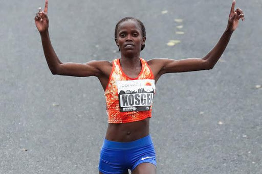 Kenyan world record-holder Brigid Kosgei goal is to win the Ras Al Khaimah Half Marathon