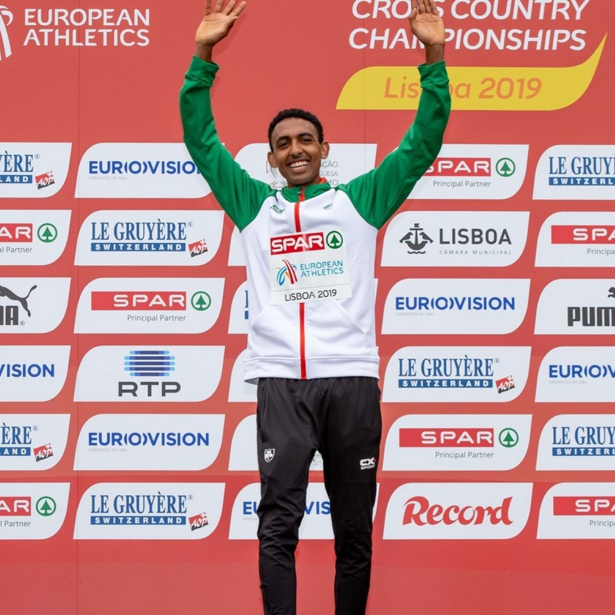Eritrean born Efren Gidey, went from refugee to U20 podium at Euro Cross