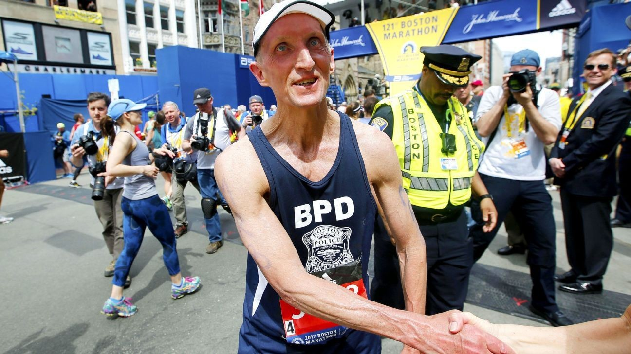 Former Boston Police Commissioner William Evans is running the Boston Marathon for the 21st time