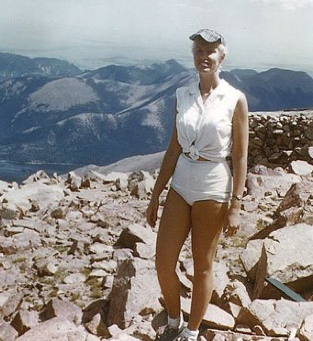 60 years ago, Arlene Pieper Stine was the first woman to run to the top of Pikes Peak and first US woman to finish a marathon