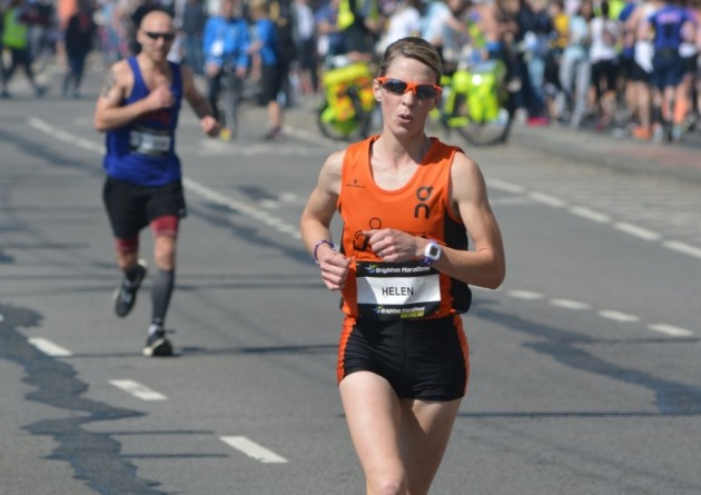 Helen Davies will defend her Brighton Marathon title next month