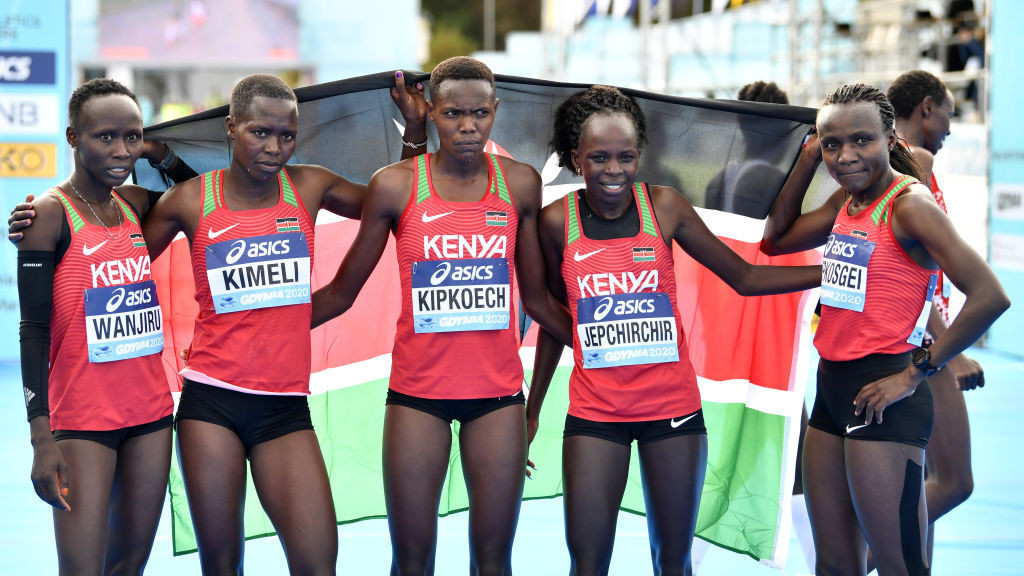 Kenya has banned its athletes from taking part in the Kilimanjaro Marathon in Tanzania this weekend, because of growing concerns over the spread of the pandemic in the host country