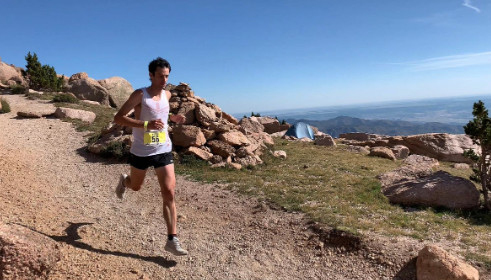 Kilian Jornet falls short of Pikes Peak Marathon record as Maude Mathys obliterates women's mark set last year