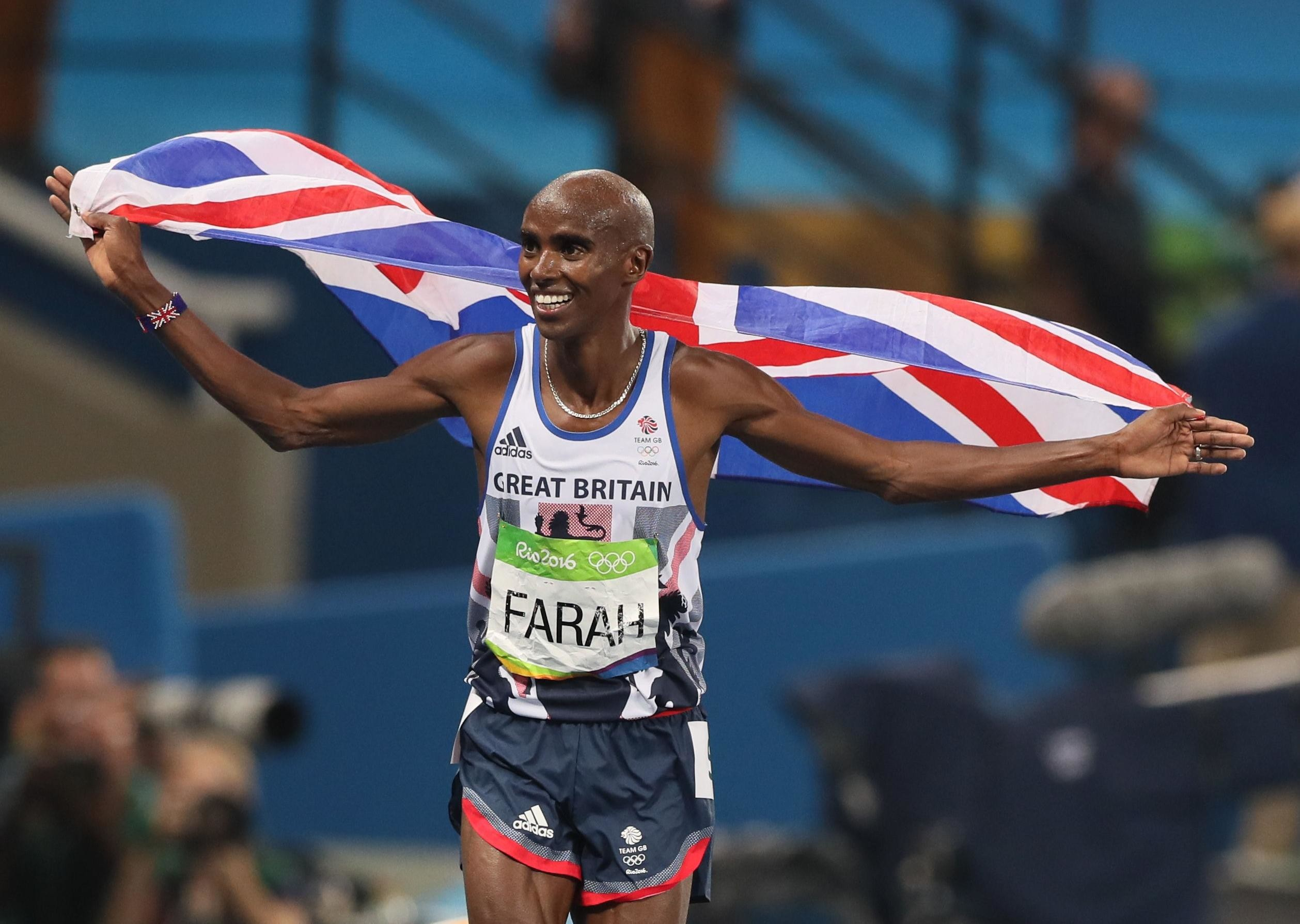 Sir Mo Farah will be targeting a new record in Larne on September 12