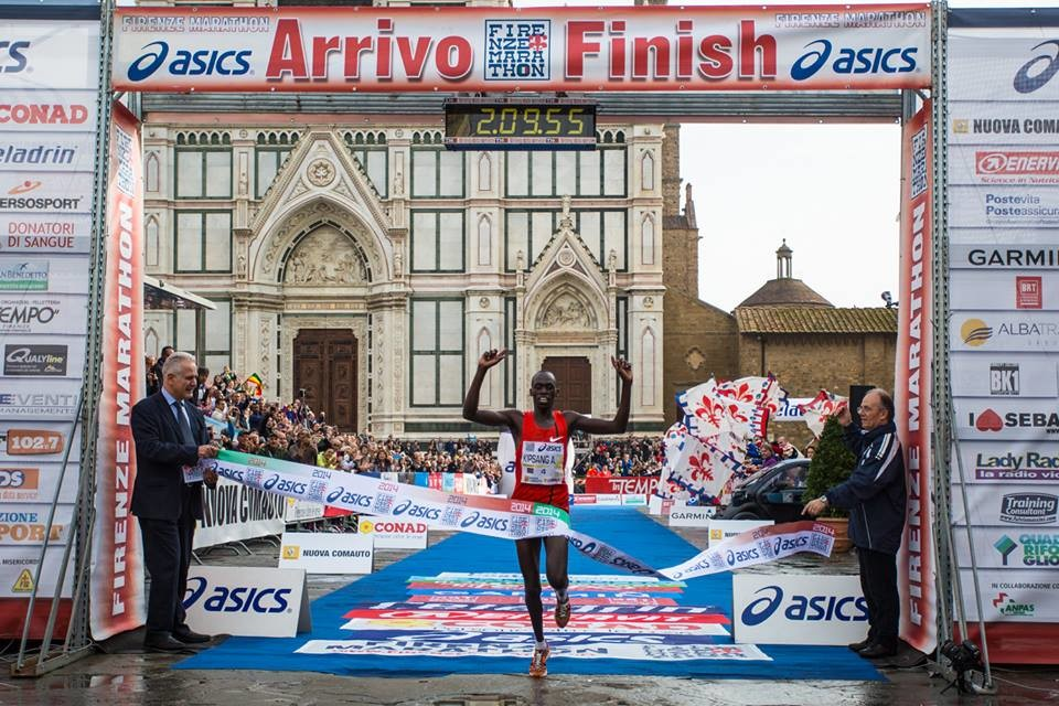 Kenya's Asbel Kipsang and Tefera Dinknesh Mekash from Ethiopia are the favorites at the Asics Firenze Marathon
