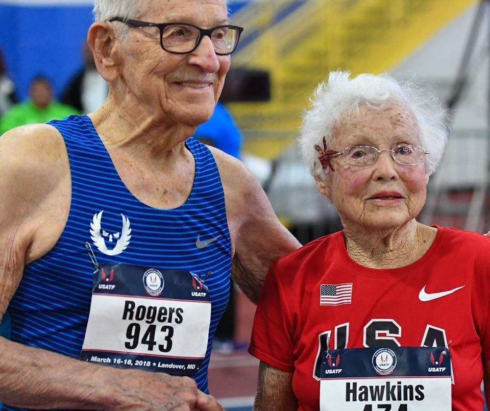 These two 100 year-olds set Six World Records over the weekend