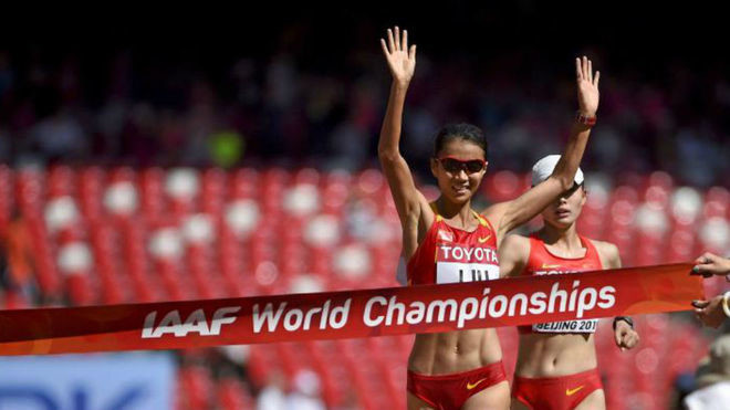 Olympic 20km race walk champion Liu Hong eager to get back racing