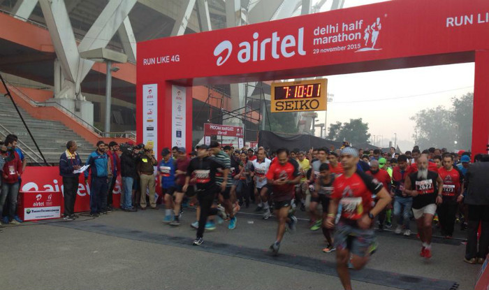 2018 Airtel Delhi Half Marathon are using corporate honchos for its pacers