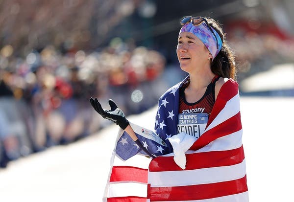 Molly Seidel had never run a marathon until Feb 29 where she made the 2020 US Olympic Marathon team