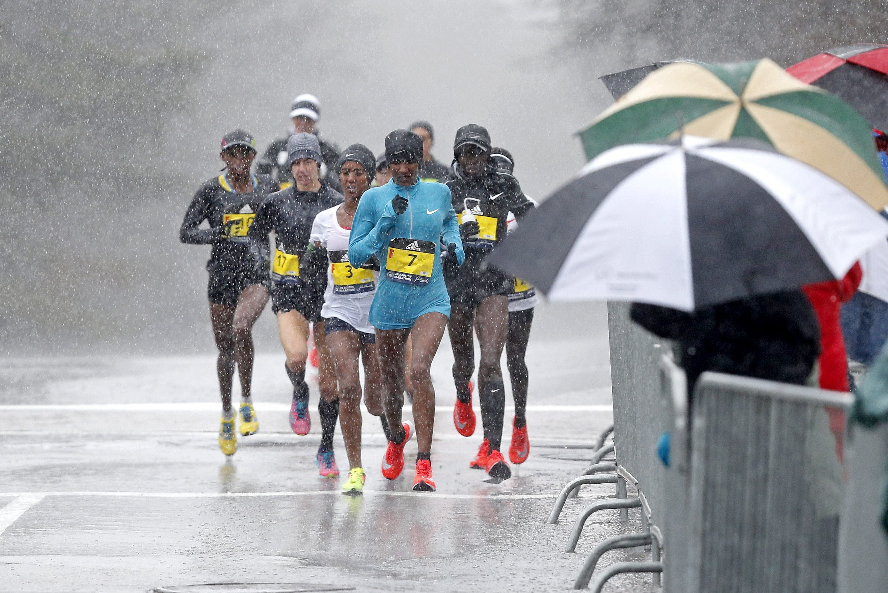 Don't spend any energy worrying about the weather for this year's Boston Marathon says Marathon Man Gary Allen File 5