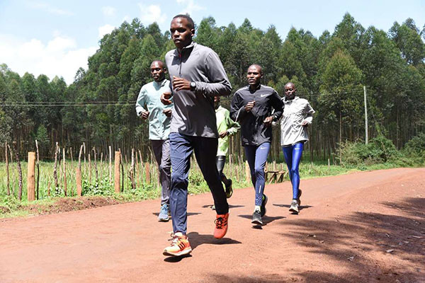 Berlin marathon silver medalist Amos Kipruto is in his preparations for the Tokyo marathon in March 2019