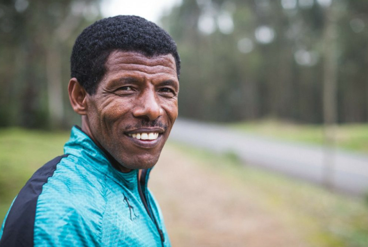 Ethiopia's running legend Haile Gebrselassie is helping to fight Covid-19