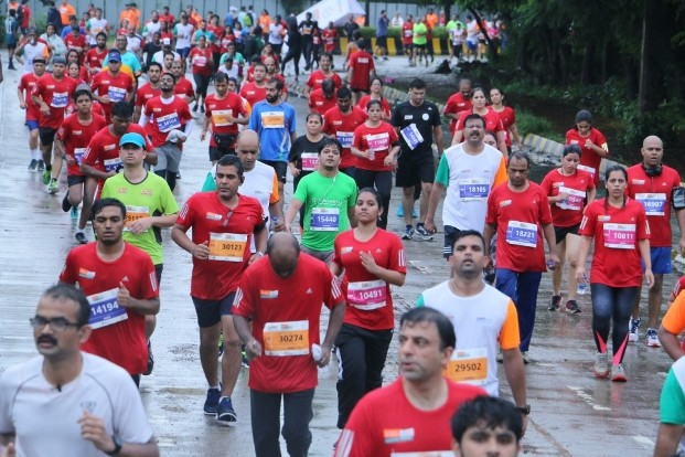 A record number of 17,500 runners will line up for the fourth edition of the Mumbai Half Marathon