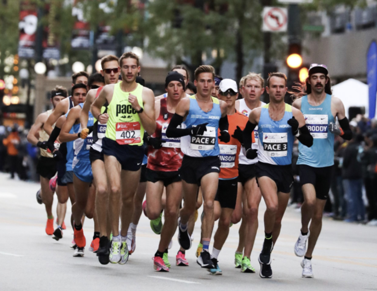 It was a good day for American men at the Chicago Marathon as the top four ran under 2:11