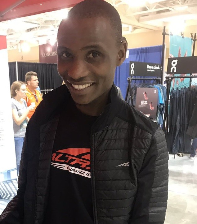 Panuel Mkungo from Kenya won the  500 Festival Mini-Marathon Clocking 1:03:26