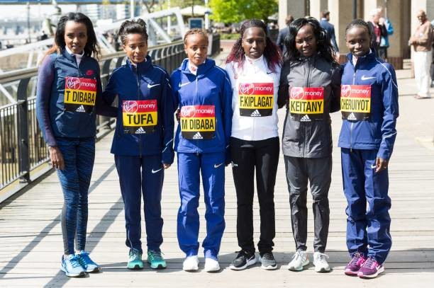 Mary Keitany, Vivian Cheruiyot And Tirunesh Dibaba will battle at the London Marathon