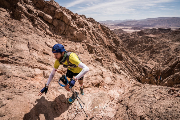 Ultra superstar Michael Wardian started his most challenging ultra ever today, the FKT Israel Project 631 miles in 10 days