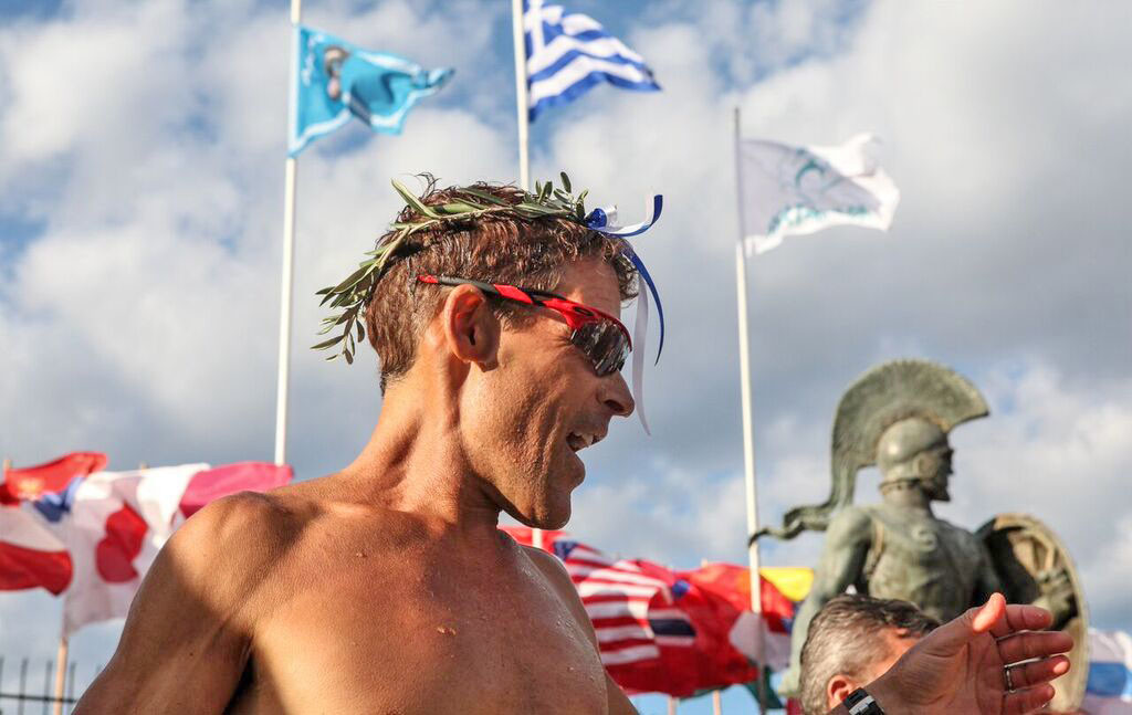 Dean Karnazes is once again running the 246K Spartathlon which follows in the footsteps of Pheidippides