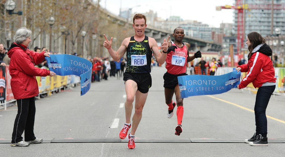 Two time Canadian Olympian Reid Coolsaet will run the Waterfront Marathon and is eyeing the $43,000 bonus for a national record