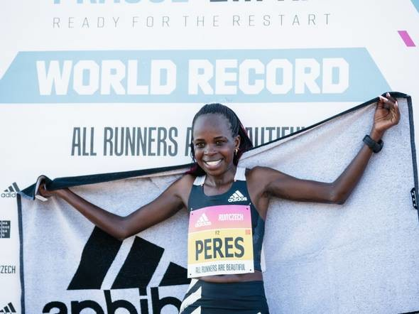 World half marathon record holder, Peres Jepchirchir will lead strong Kenyan field in Valencia