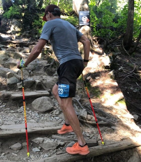 Wilf Leblanc 57-year-old smashes multi-Grouse Grind record on summer solstice