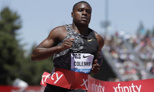 Christian Coleman will miss the Olympic Games in Tokyo next year after the world 100m champion was banned for two years after two missed drugs tests and a filing failure in 2019