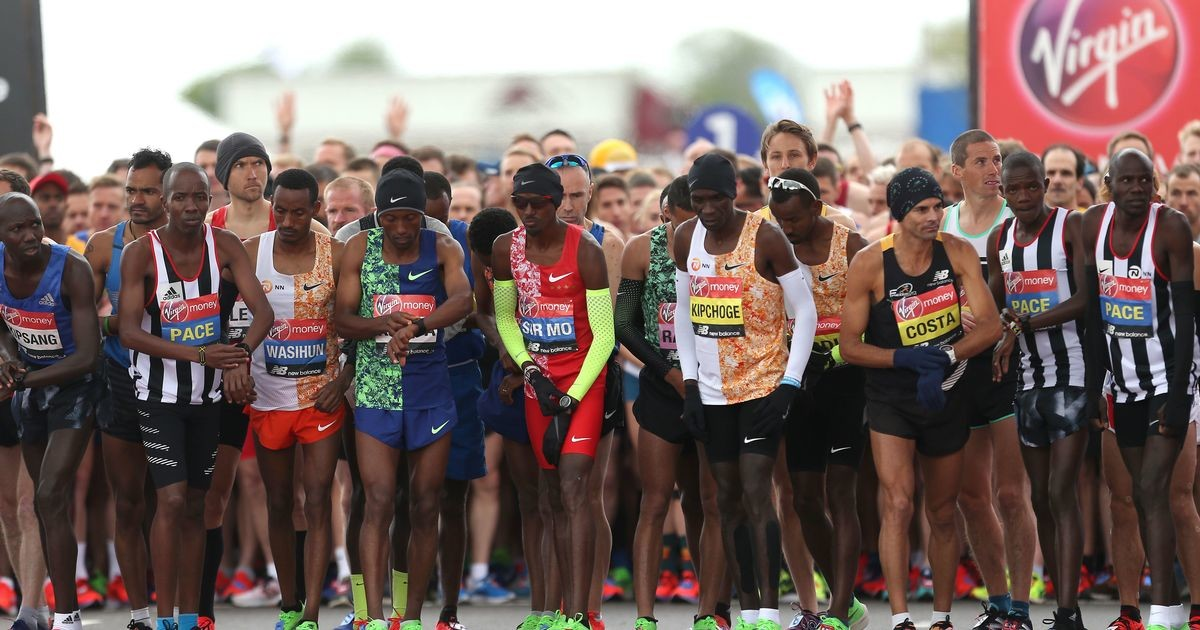Epic clash at London Marathon this year, but with lower prize money