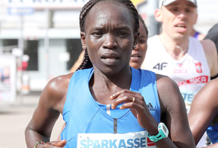 Vienna Marathon champion Nancy Kiprop will face a big challenge at the Frankfurt Marathon