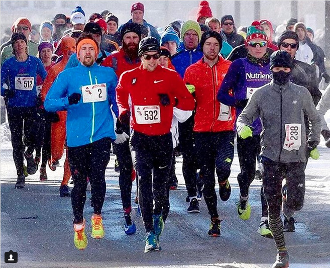 Runners battle frigid conditions at Boxing Day 10-Miler