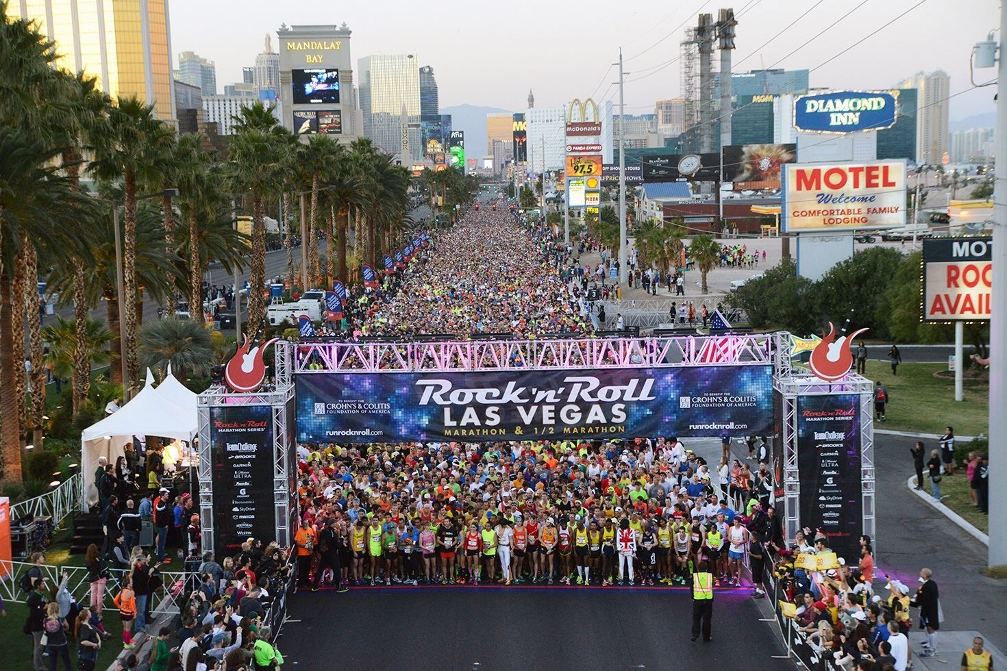 The 2020 Rock 'n' Roll Las Vegas Marathon has been postponed due to the pandemic