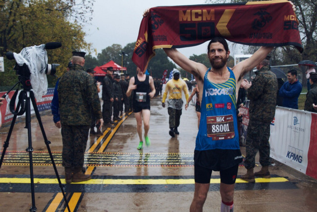 Ultrarunner Legend Michael Wardian Wins Inaugural MCM50K