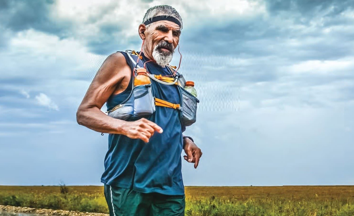 The king of the trails, Rene Villalobos is a 59-year-old plumber with 350 ultras under his belt