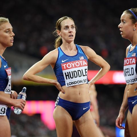 Two-time Olympian and American record holder Molly Huddle wants to criminalize doping
