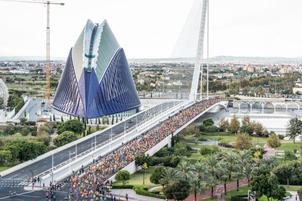 Valencia Marathon sells out ten months ahead of the 2020 event