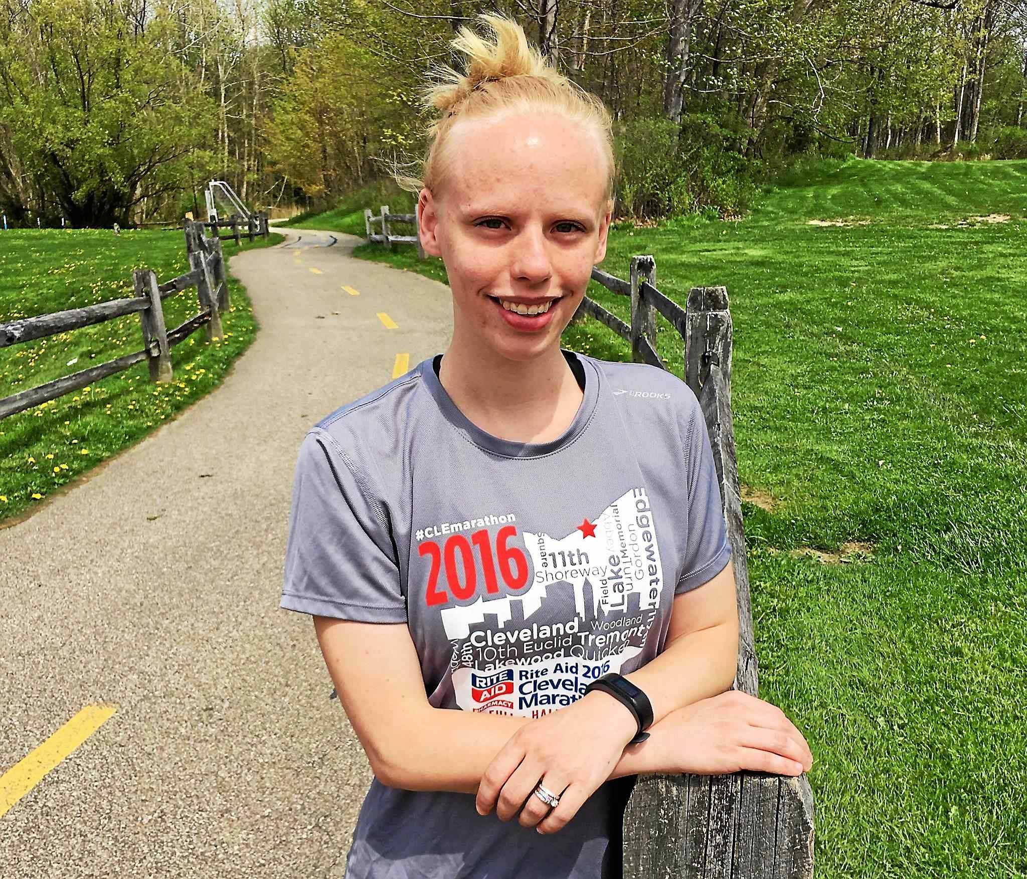 Shelby Jones is running her 100th Half Marathon May 20, half of these in the last 12 months