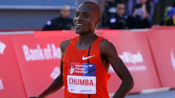 Dickson Chumba  will return to run the 2018 Bank of America Chicago Marathon